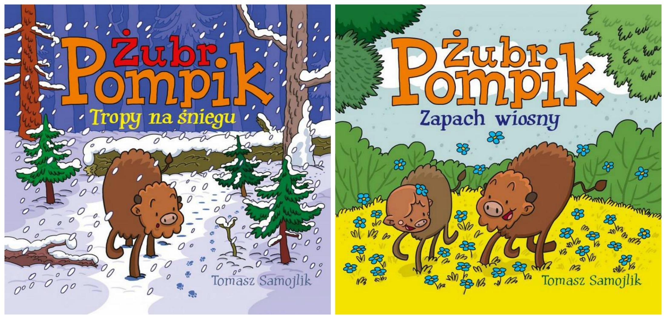 Dr Samojlik debiutował książką o żubrze Pompiku (fot. materiały prasowe)