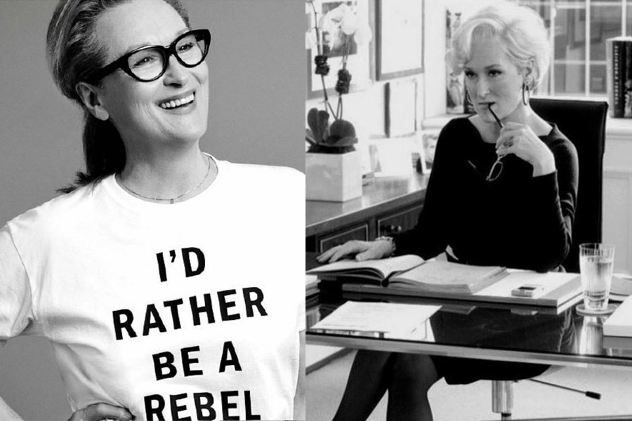 Maryl Streep - okulary