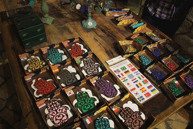 Wyroby, które można kupić w galerii Adina Plastelina w Tel Awiwie