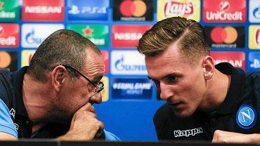 Trener Napoli zna przyczynę kontuzji Milika. Jest wściekły
