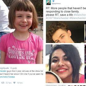 Po wybuchu na koncercie Ariany Grande zrozpaczeni rodzice szukają dzieci