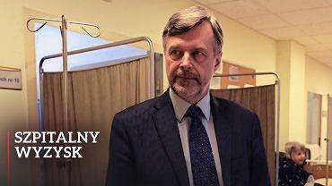 Balicki: Im dłuższa kolejka, tym lepiej dla szpitala. Wolny rynek zniszczył służbę zdrowia
