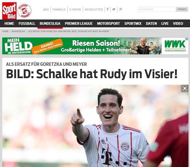 Sebastian Rudy odejdzie z Bayernu?