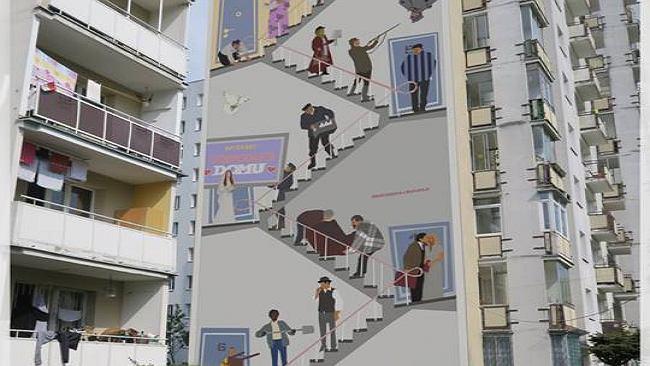 Warszawa gazeta wyborcza wiadomo ci wydarzenia sport for Mural alternatywy 4