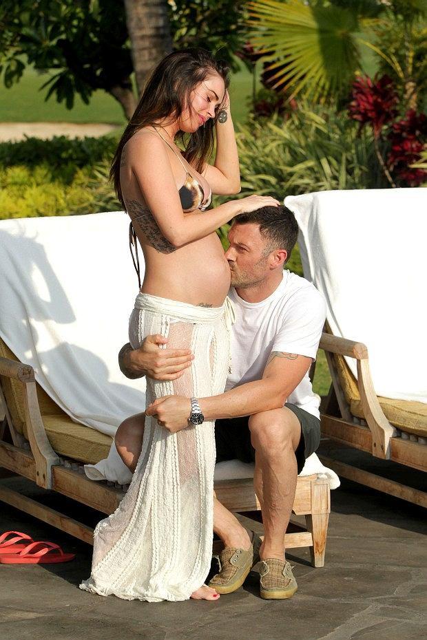 Megan Fox, Brian Austin Green.