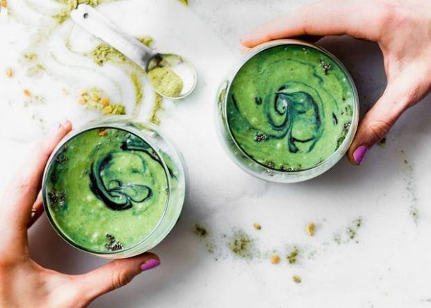 Zielone koktajle są zdrowe i niskokaloryczne