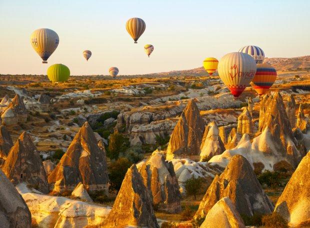 Kapadocja, balony nad Goreme