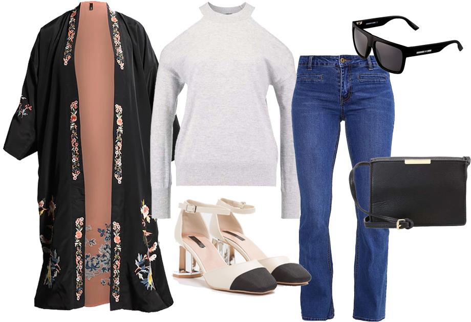 Pantofle w stylu Chanel - stylizacja Sary Boruc