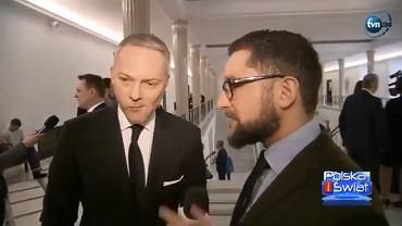 Reporter pyta posła PiS o sędziego TK, którego wybrał. Ten nie znał nawet nazwiska