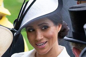 Meghan Markle na Royal Ascot złamała ważną zasadę dot. ubioru. Porównano ją z księżną Kate