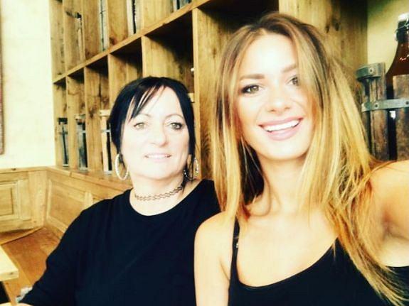 Jessica Ziółek z mamą