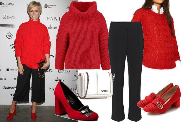 fot. WBF/  Paulina Smaszcz-Kurzajewska/ modne pantofle w czerwonym kolorze
