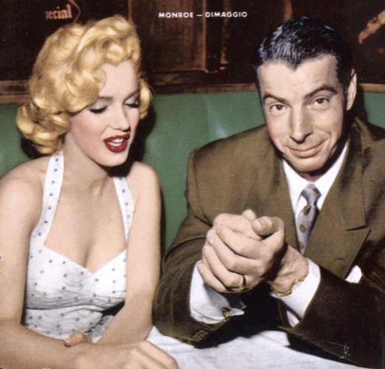 Marilyn Monroe i Joe DiMaggio w styczniu 1954 r. (fot. Copyright not renewed - eBay cover / Wikimedia.org / Domena publiczna)