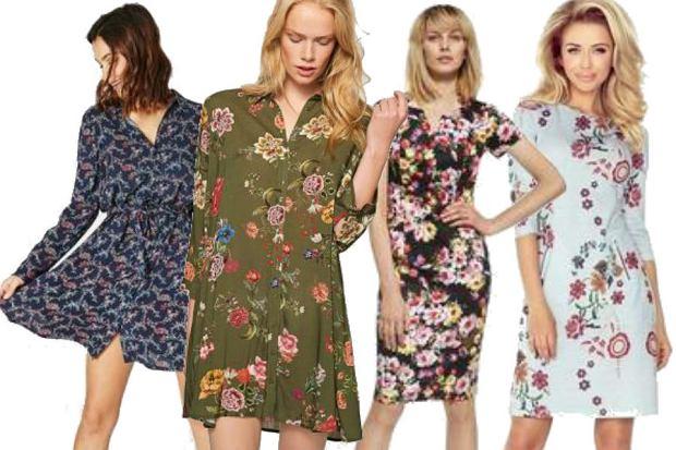fot. materiały partnera/ sukienki w kwiaty na jesień
