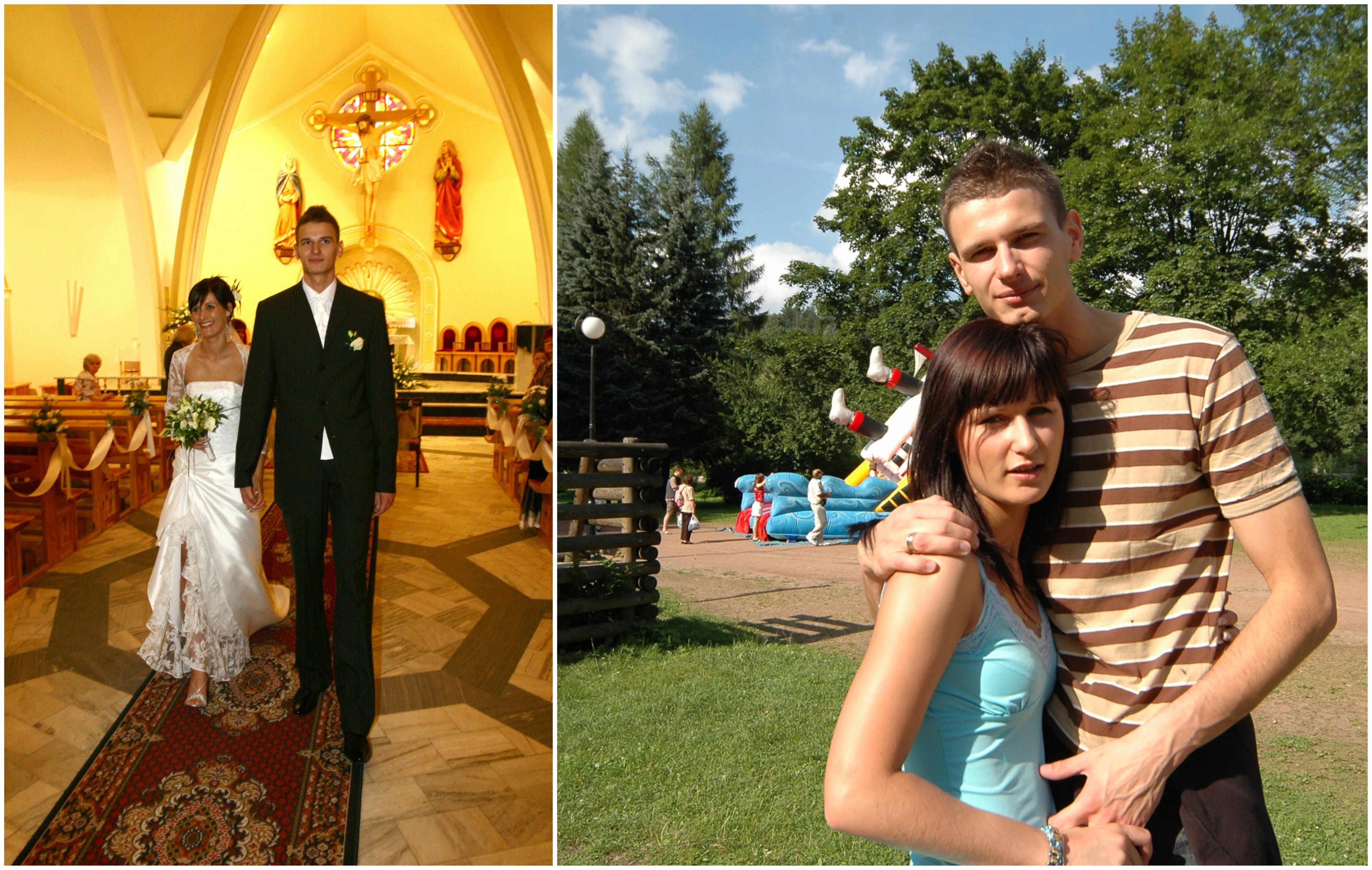 Arek i Agnieszka pobrali się na kilka tygodni przed wypadkiem (fot. archiwum prywatne)