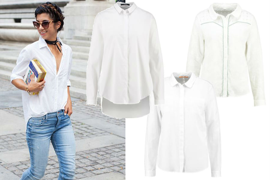 782ab4e274 Białe ubrania na lato - jaki element wybrać