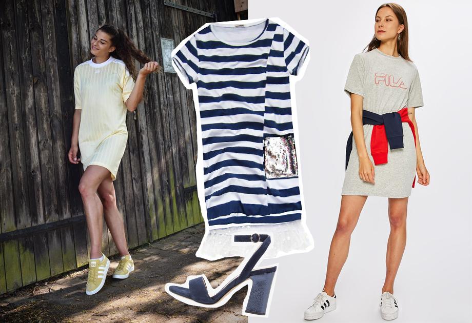 ccf626070d Sukienki sportowe - z tenisówkami i z butami na obcasie