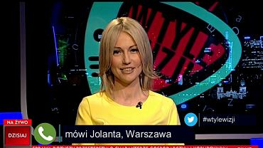 "W TVP Info beztrosko o TW ""Bolku"". Na wizji Ogórek. Nagle dzwoni pani Jolanta"