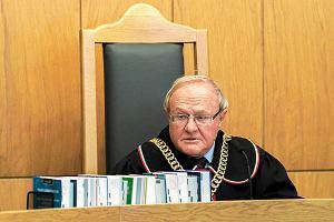 Sędzia Biernat opowiada, jak pożegnała go prezes Przyłębska. Był nawet prezent