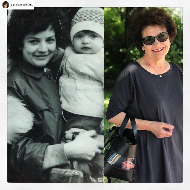 Agnieszka Dygant z mamą / Mama Agnieszki Dygant