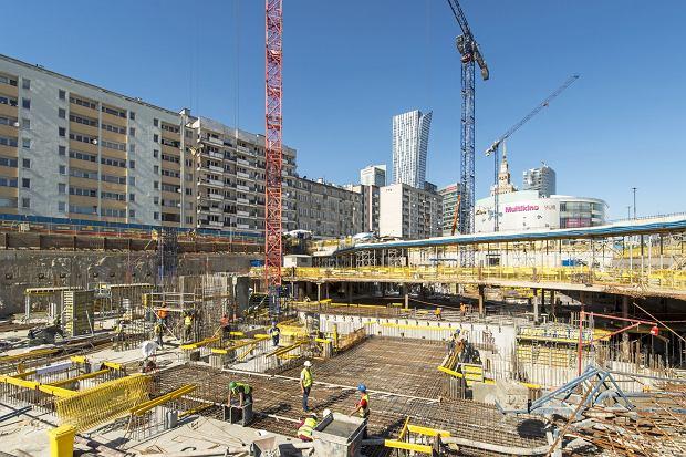 Varso - plac budowy