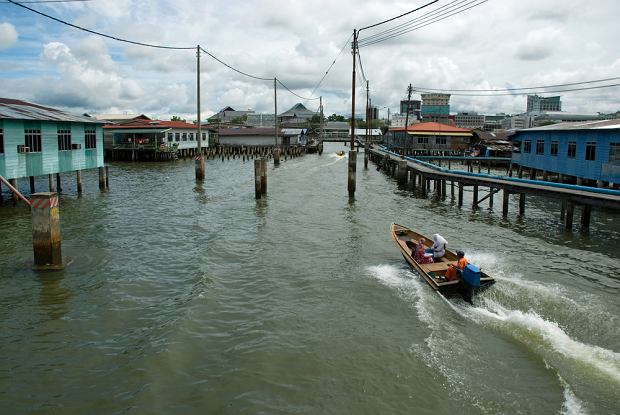 Kampung Ayer - wodne miasto w Brunei