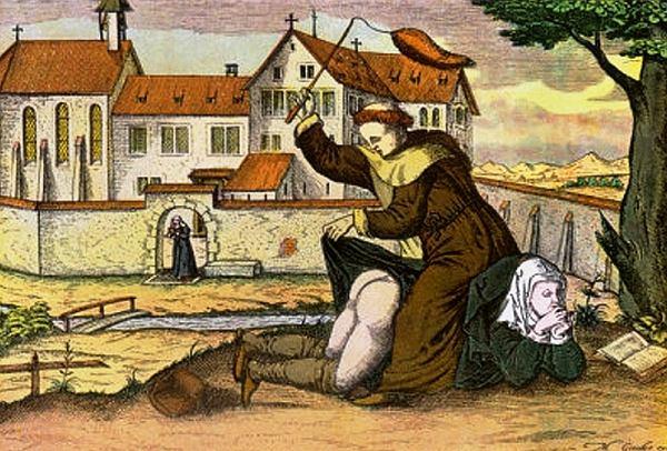 Tajemnice średniowiecznej alkowy. Seks w pozycji, w której żona była nad mężem, zaburzał porządek świata