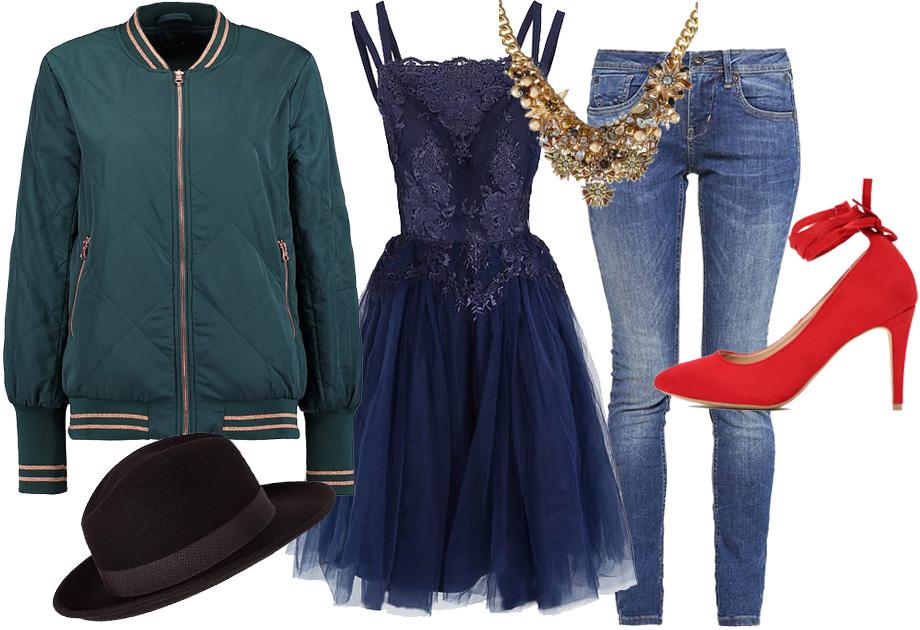 Sukienka tiulowa - stylizacja