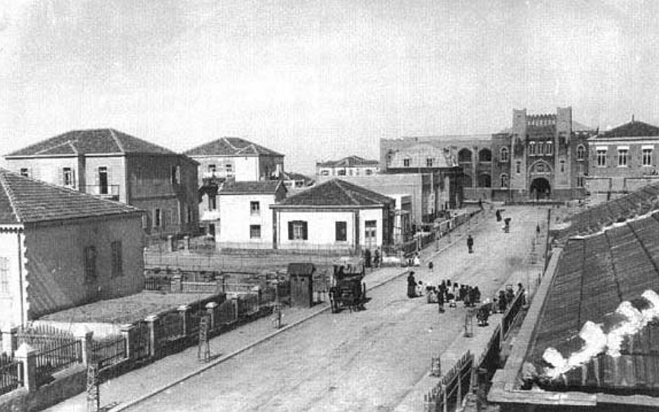 Tel Aviv w 1913 roku. Wtedy właśnie tak wyglądała nowoczesna zabudowa (fot. autor nieznany / wikimedia.org / domena publiczna)
