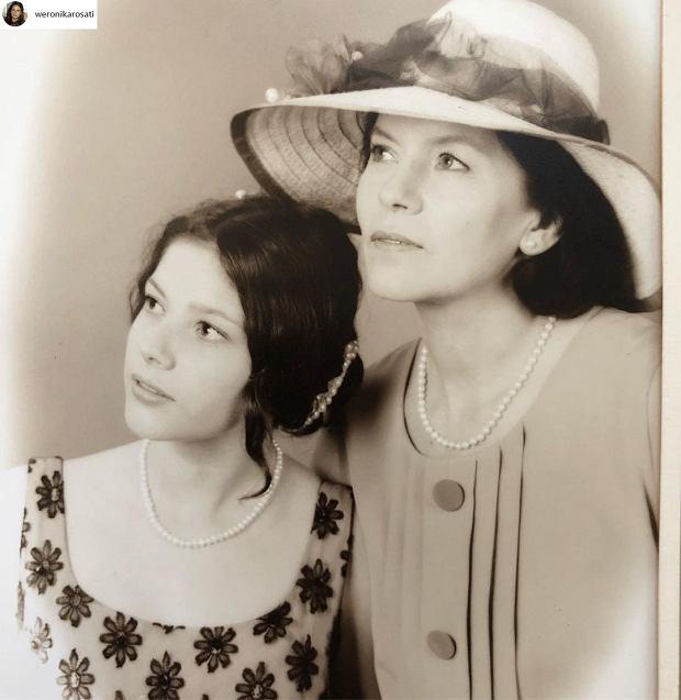 Weronika Rosati z mamą Teresą