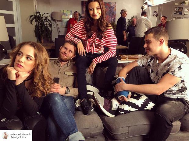 Rodzinka.pl, zdjęcie z 12 sezonu serialu, Adam Zdrójkowski