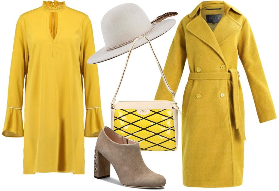 Stylizacja - kolor żółty