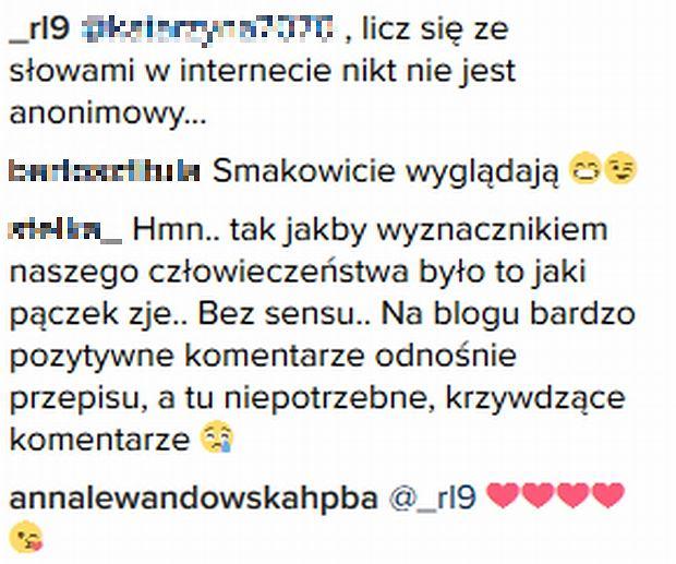 Screen z Instagram.com/annalewandowskahpba/