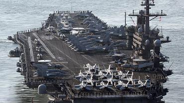 Coraz więcej jednostek bojowych USA w rejonie Półwyspu Koreańskiego. Amerykanie pokazują swoją potęgę