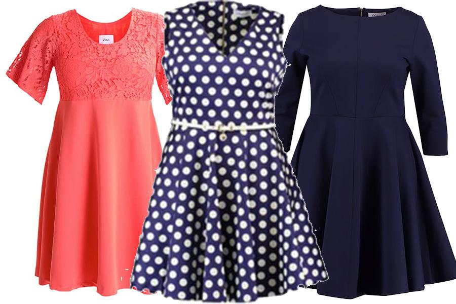 4232702c41 Idealne sukienki na duże rozmiary - jakie fasony wybierać