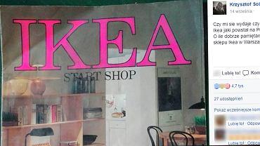 """Pan Krzysztof znalazł katalog IKEA sprzed 27 lat. """"Chcę tę kanapę!"""""""