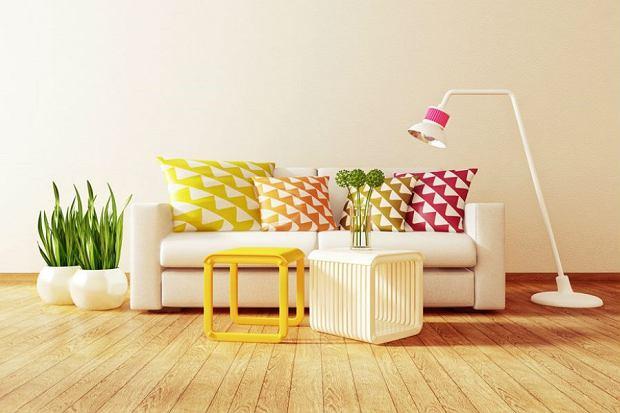 dodatki, kolor, mieszkanie, wnętrza
