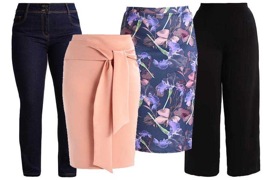 Spodnie, spódnice - jakie fasony zamaskują brzuch