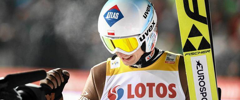 6, 7, 8 i 9 - to miejsca Polaków po pierwszej serii w Zakopanem! Najwyżej Stoch. Strata ok. 2 metrów do lidera