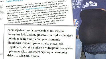 """Sylwia napisała list o 500+ i """"dzieciach bezzębnych tipsiar"""". Miażdżąca odpowiedź"""