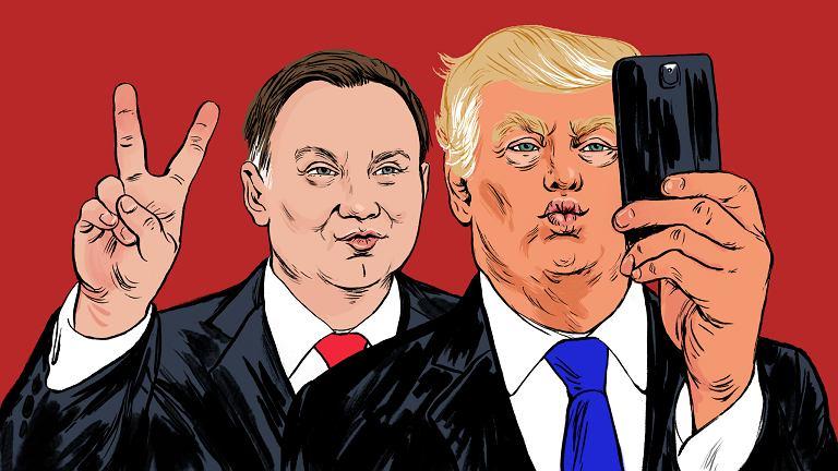 Trump w Polsce nie musi obawiać się protestów. W zamian nie będzie mówić o jej konflikcie z UE
