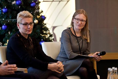 Aleksandra Sobczak z prawej