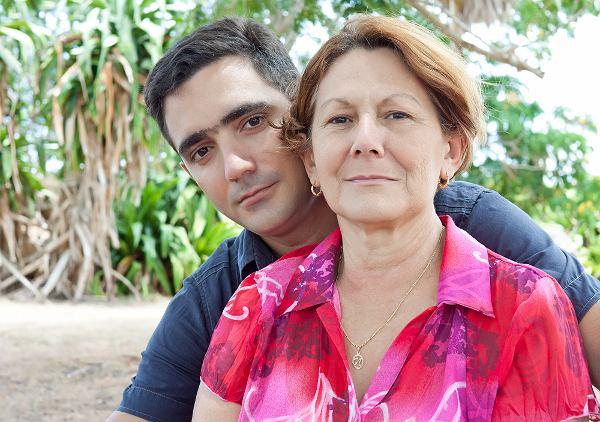 """Mąż Kasi był młodszy od niej o 12 lat. """"Jego mama mówiła o mnie: Poleciałeś na d...ę"""""""