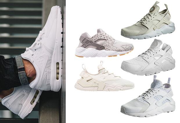 Nike Huarache, kolaż, pinterest