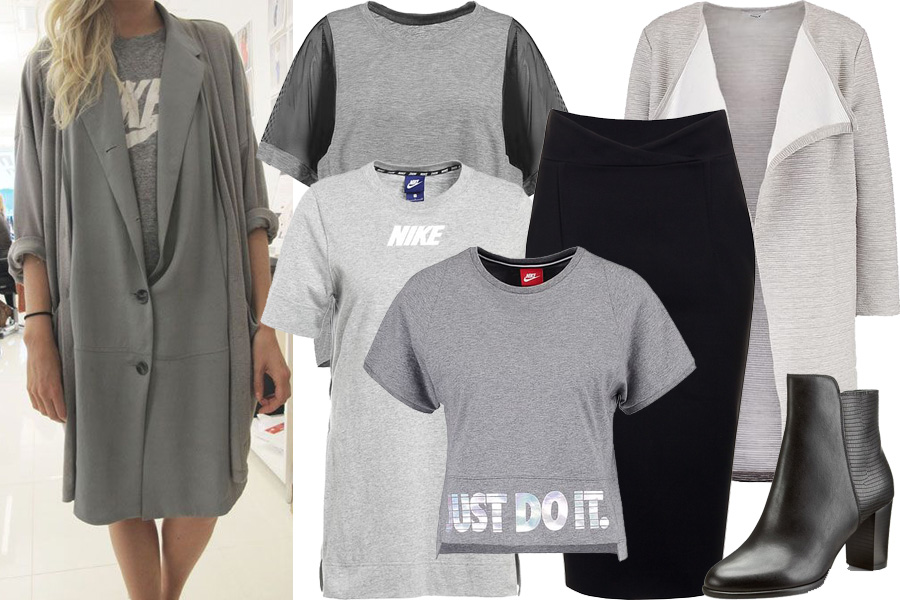Koszulka Nike - stylizacja