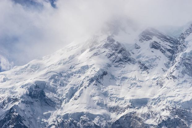 73318215 - nanga parbat mountain peak in cloudy day, fairy meadow, pakistan, asia
