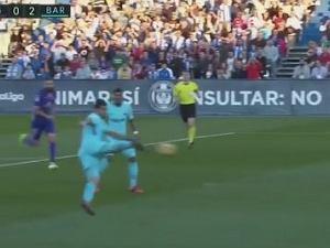 Ależ Suarez złożył się do tego strzału! Przepiękny gol napastnika Barcelony