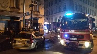 Pożar w popularnym krakowskim klubie. Jest prawdopodobna przyczyna