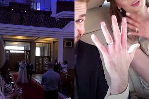 Nie tylko Meghan i Harry świętowali. Ta para polskich dziennikarzy też stanęła na ślubnym kobiercu
