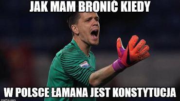Polska strzeliła dwa gole, ale jeden sobie. Biało-czerwony sen się skończył [MEMY]